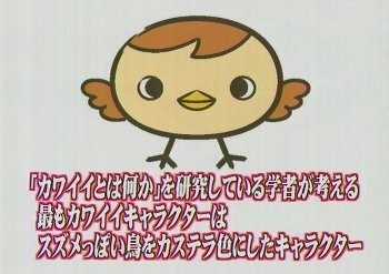 Japan's cutest character - a sparrow image