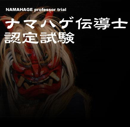 Namahage Kentei official logo