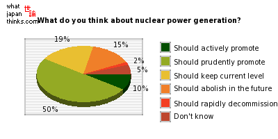What do you think about Japan's nuclear power generation? graph of japanese statistics