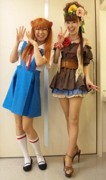 Saki chan and Sayuri