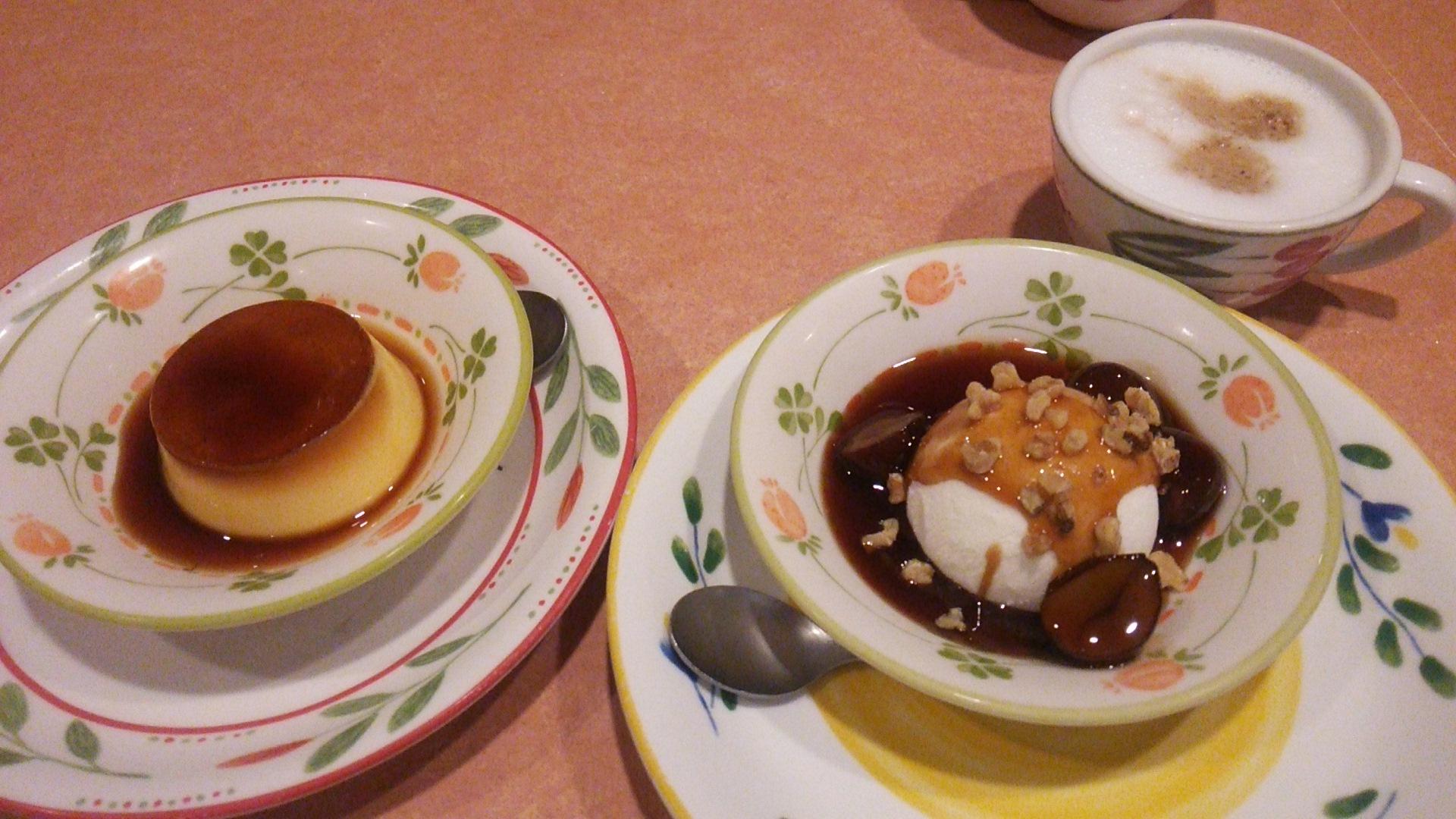 Saizeriya Naruse dessert menu